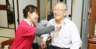 訪問看護師のイメージ