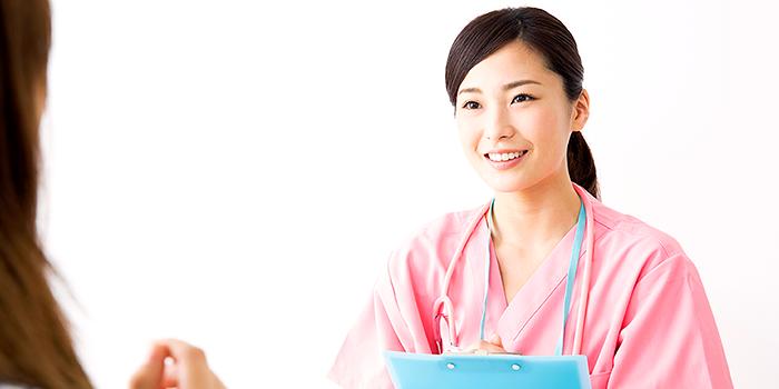 地域連携担当の看護師